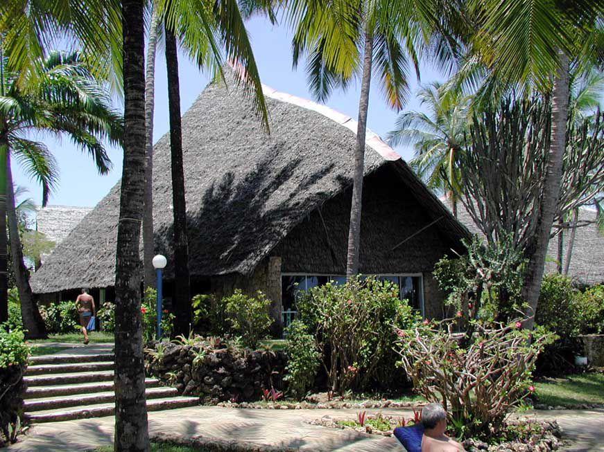 Der Speisesaal des Bahari Beach Hotels