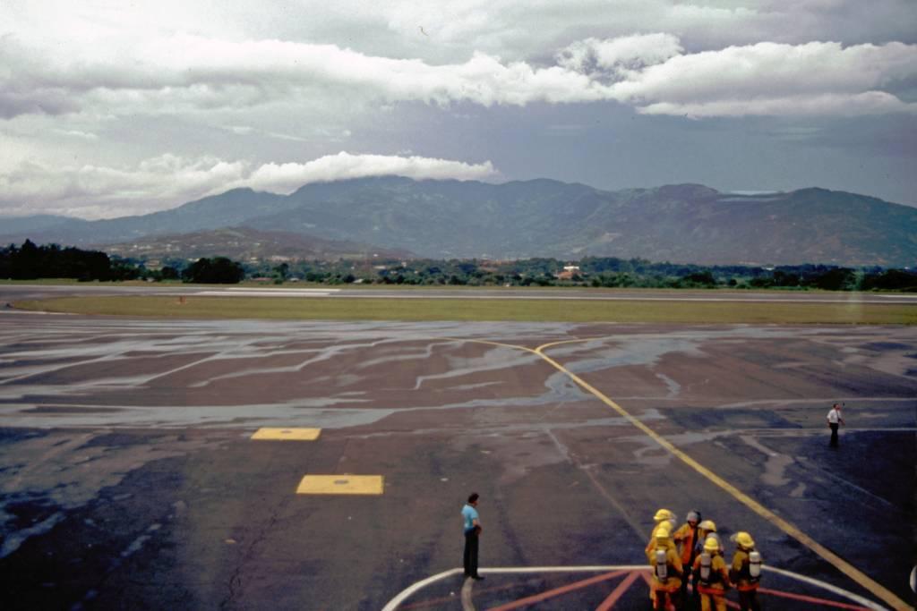 Costa Rica, San Jose, Flughafen, Hinflug