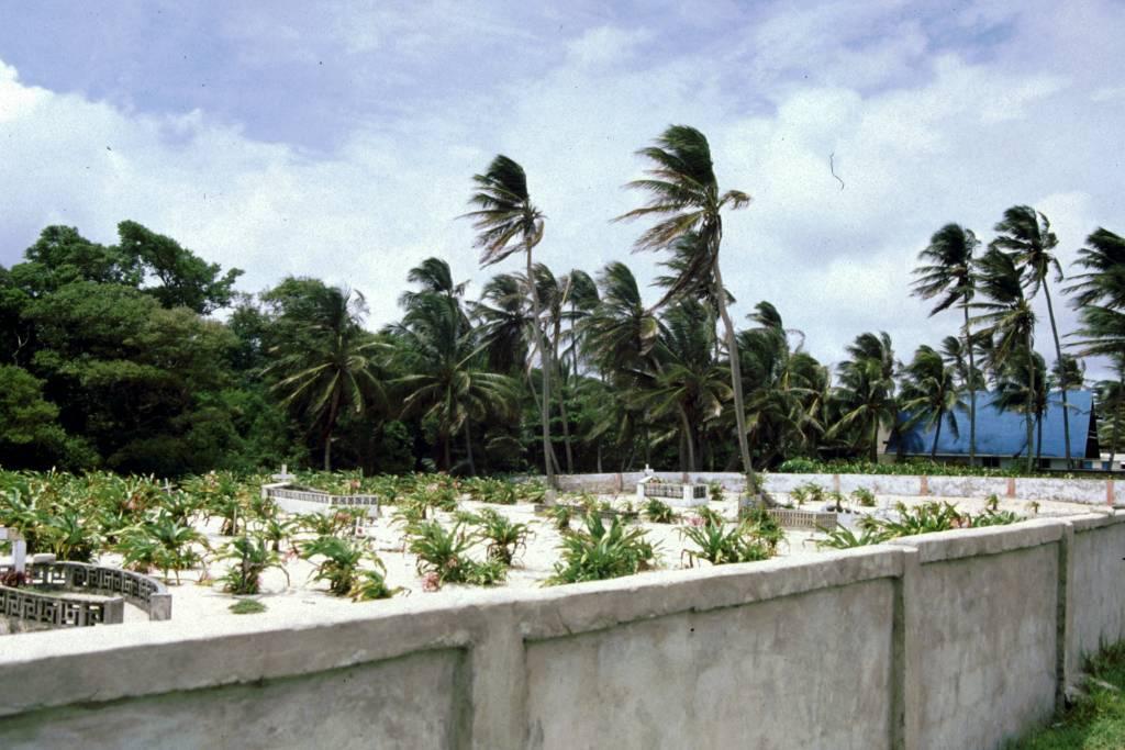 Kolumbien, San Andres, um die Insel mit dem Motorroller (ca. 12Km), Friedhof
