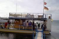 Kolumbien, San Andres, Ausflugsboot