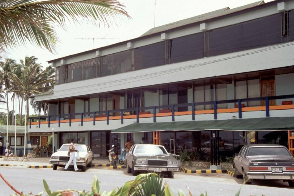 Kolumbien, San Andres, Hotel Decameron San Louis, Hauptgebäude
