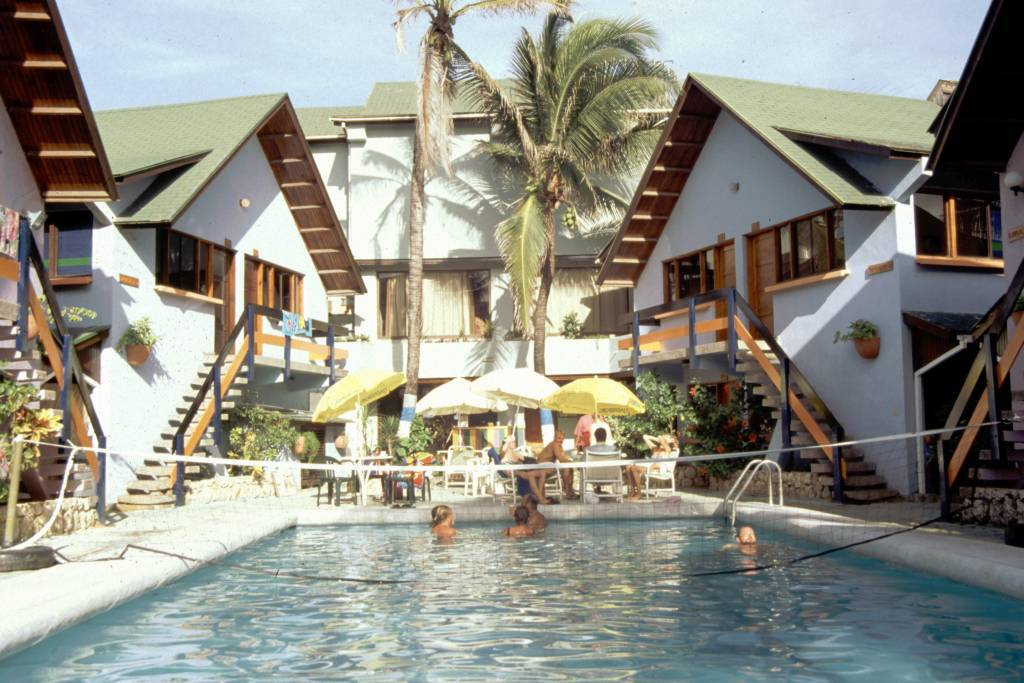 Kolumbien, San Andres, Hotel Decameron San Louis, Pool
