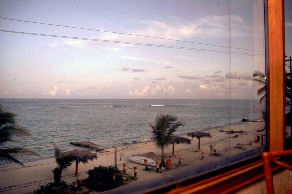 Kolumbien, San Andres, Hotel Decameron San Louis, Blick auf den Strand