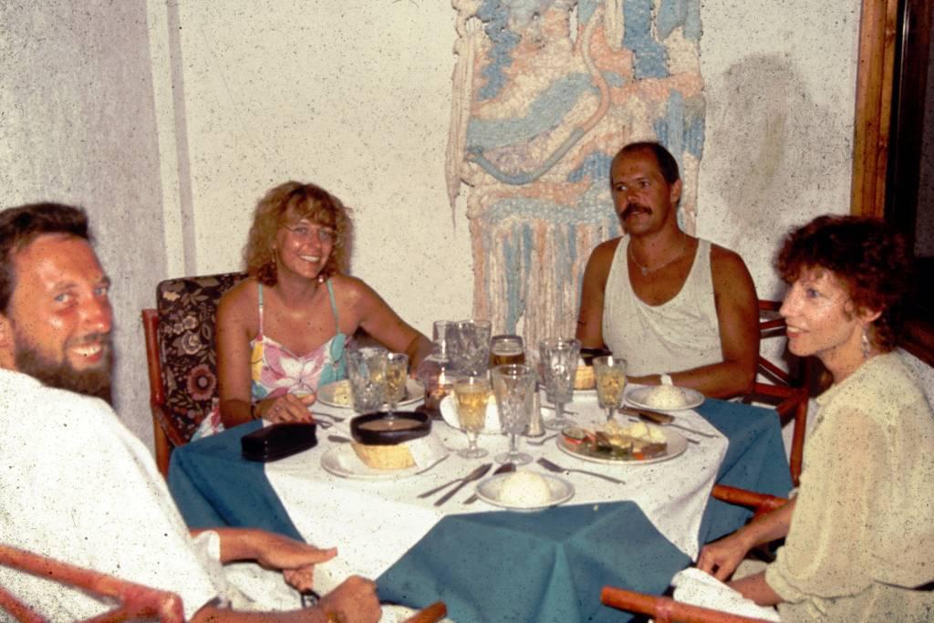 Kolumbien, San Andres, Hotel Decameron San Louis, im Panoramarestaurant