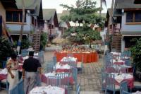Kolumbien, San Andres, Hotel Decameron San Louis, Vorbereitung für das Abendessen