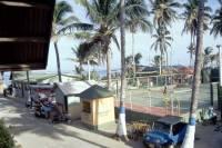 Kolumbien, San Andres, Hotel Decameron San Louis, Tennisplatz