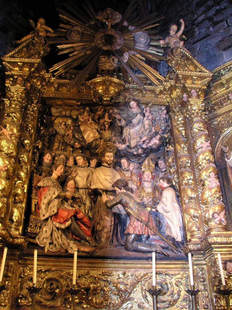 Barcelona, in der Kathedrale