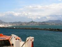 MSC Splendida, Blick auf Marseille