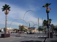 Barcelona, kurz vor der Placa de les Drassanes