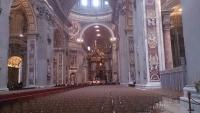 Vatikan, im Pertersdom