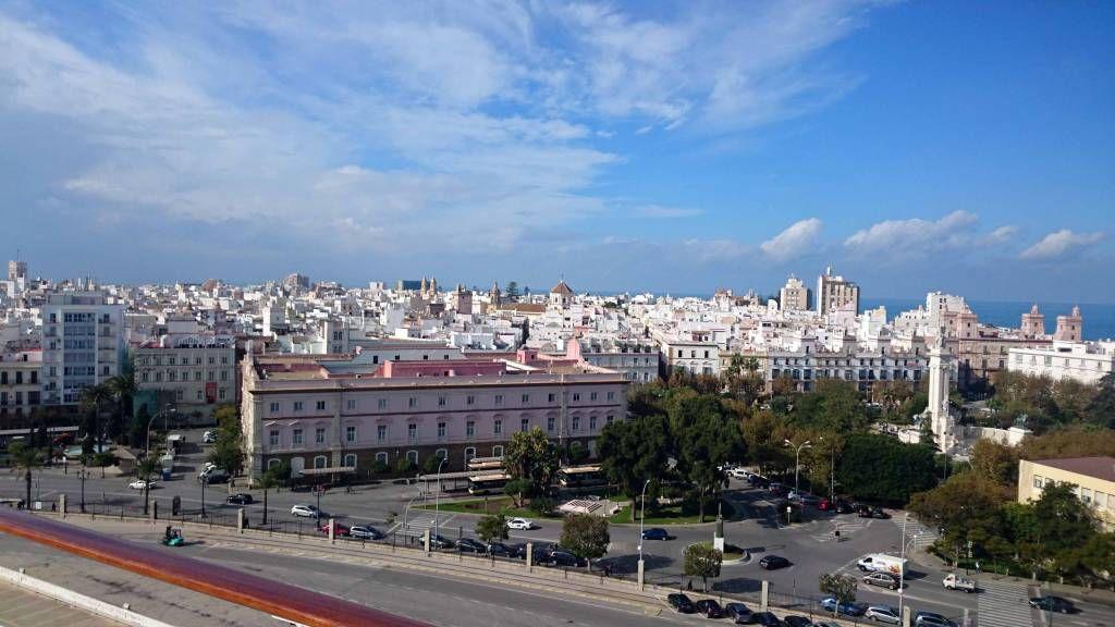 Cadiz, Stadtpanorama