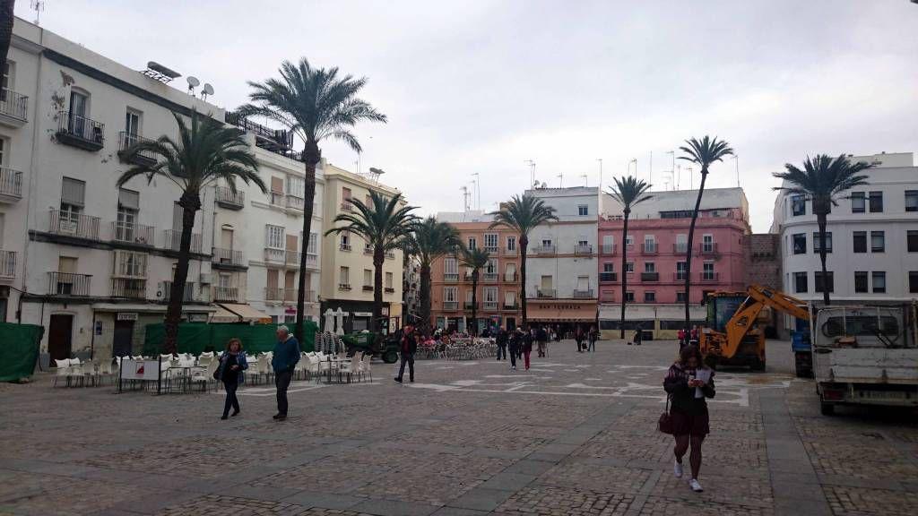 Cadiz, Kathedralenvorplatz