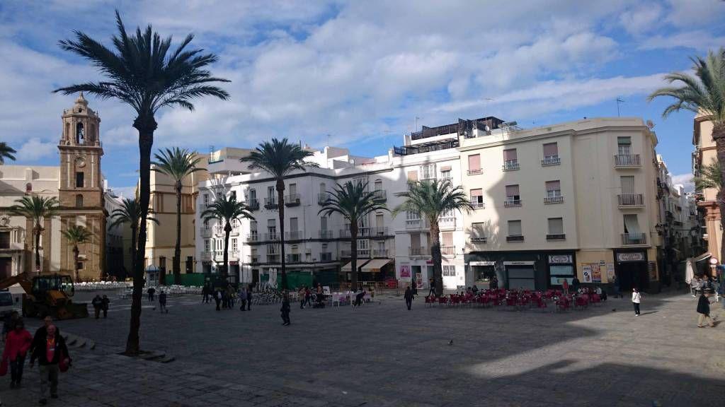 Cadiz, Platz der Kathedrale