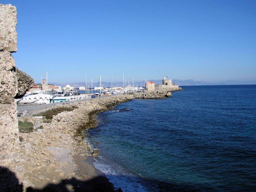 Rhodos Stadt, Hafen