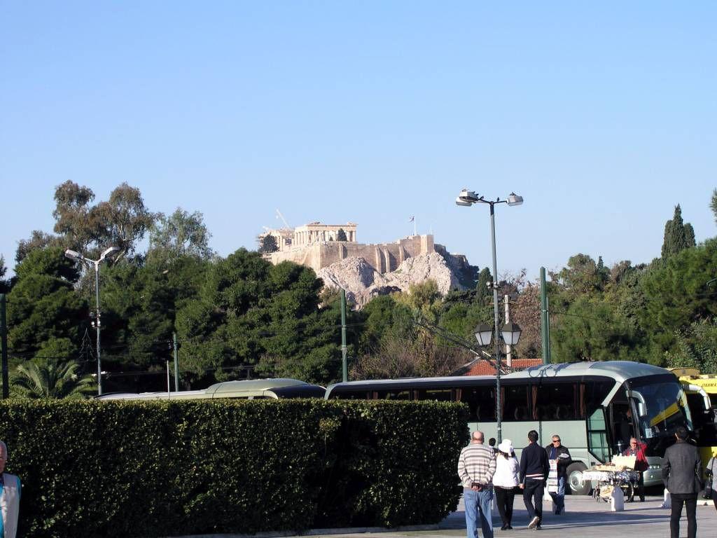Athen, Blick auf die Akropolis