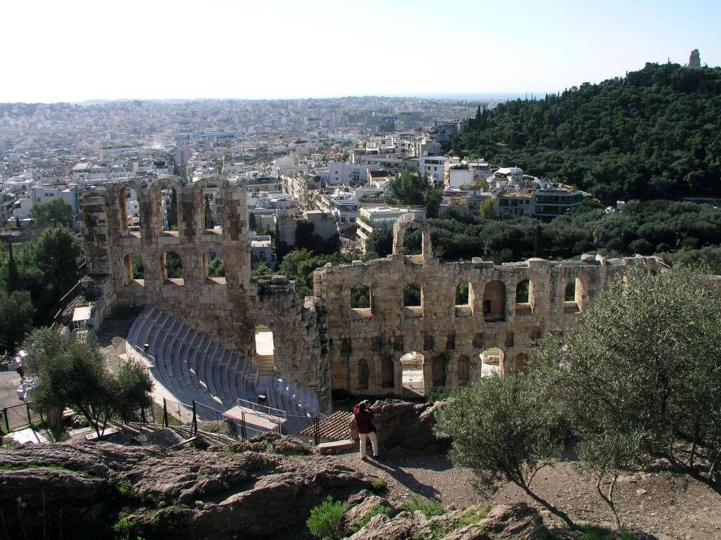 Athen, Odeon des Herodes Atticus