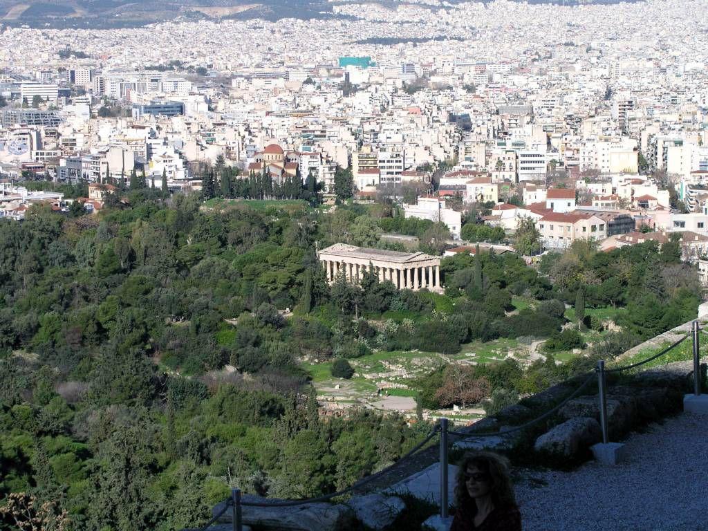 Athen, Blick von der Akropolis