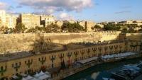 Malta, Valletta, Restaurantviertel am Hafen