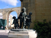 Malta, Valletta, Denkmal