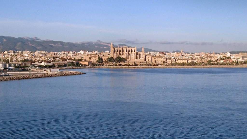 Palma de Mallorca, Blick von See