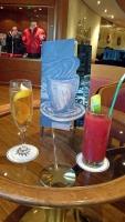 MSC Opera, auf See, Cocktails