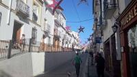 Málaga, Álora, Weihnachtsschmuck