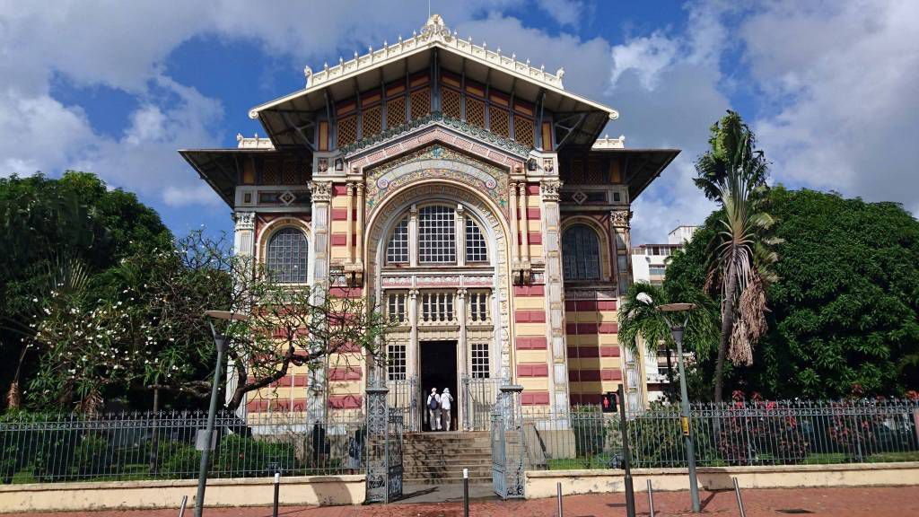 Martinique, Fort-de-France, Bibliotheksgebäude