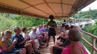 St. Kitts und Nevis, Bahnfahrt mit der alten Zuckerrohrbahn