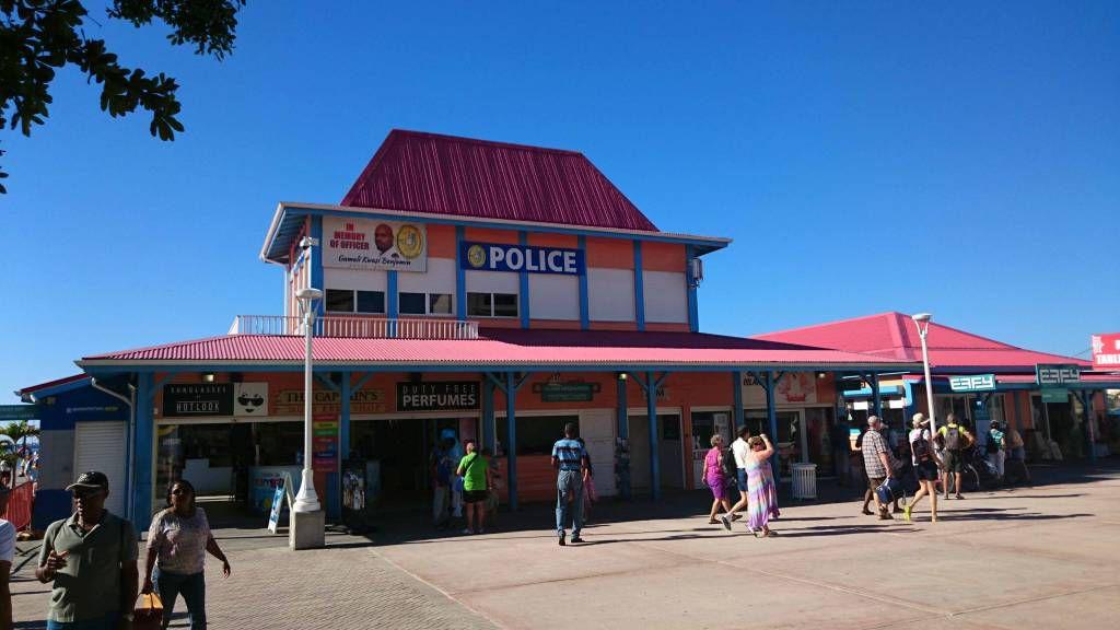 Sint Maarten, Philipsburg,Polizei