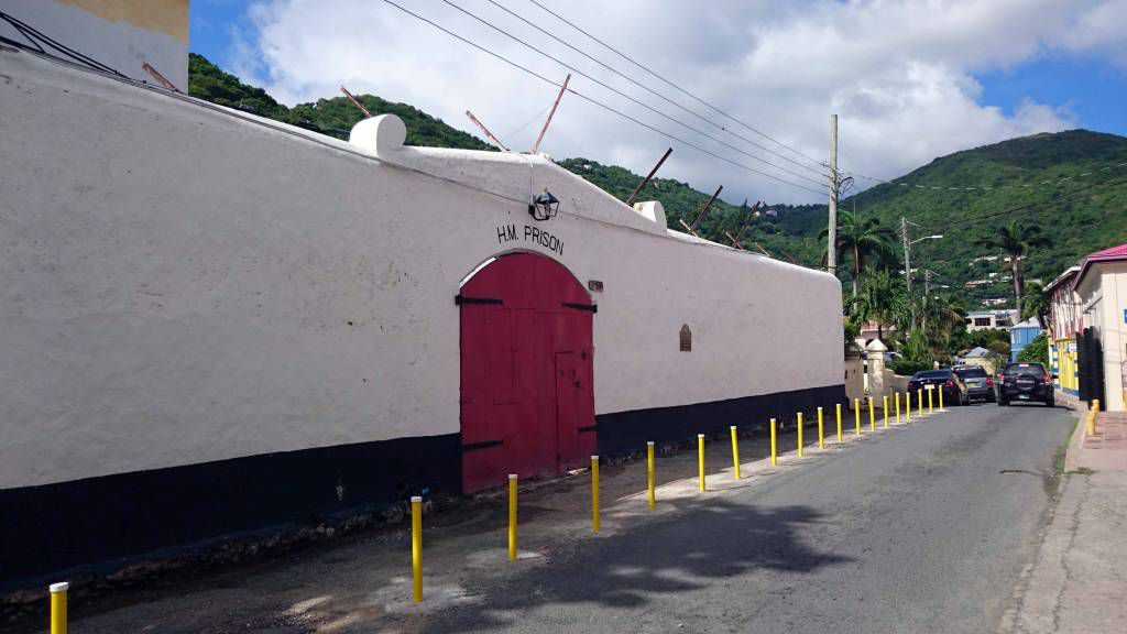Britische Jungferninseln, Road Town, Gefängnis