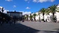 Gran Canaria, Las Palmas De Gran Canaria, Platz der Kathedrale