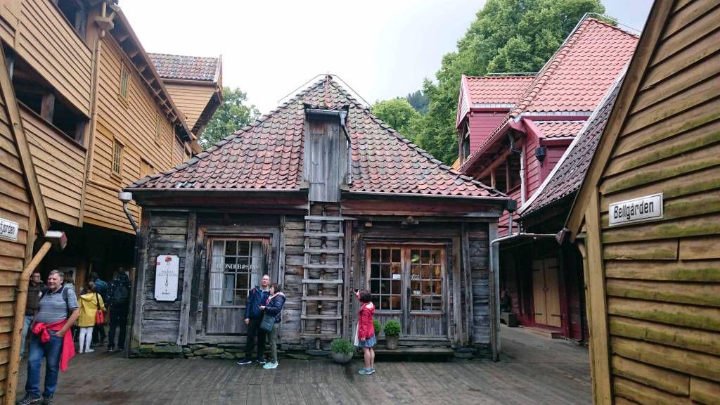 Bergen, Museumsdorf