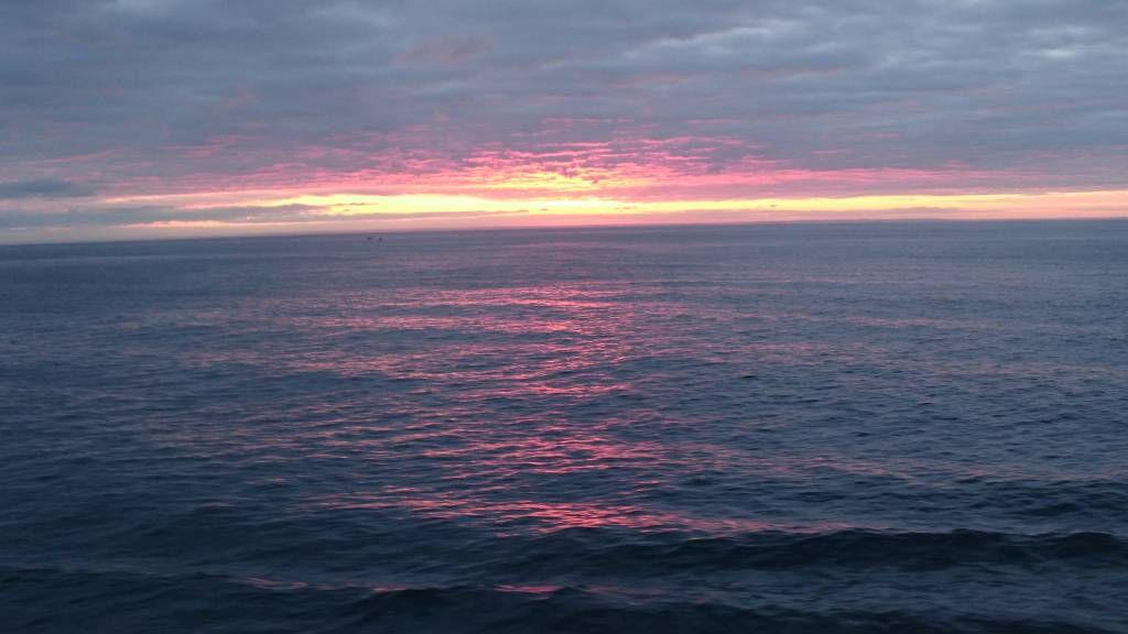 MSC Preziosa, Sonnenuntergang auf See