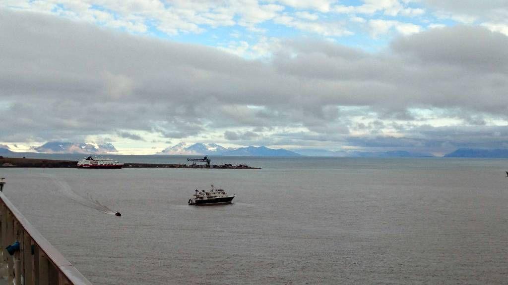 Spitzbergen, Longyearbyen, Eismeer