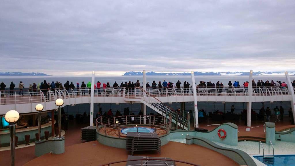 Spitzbergen, im Eismeer