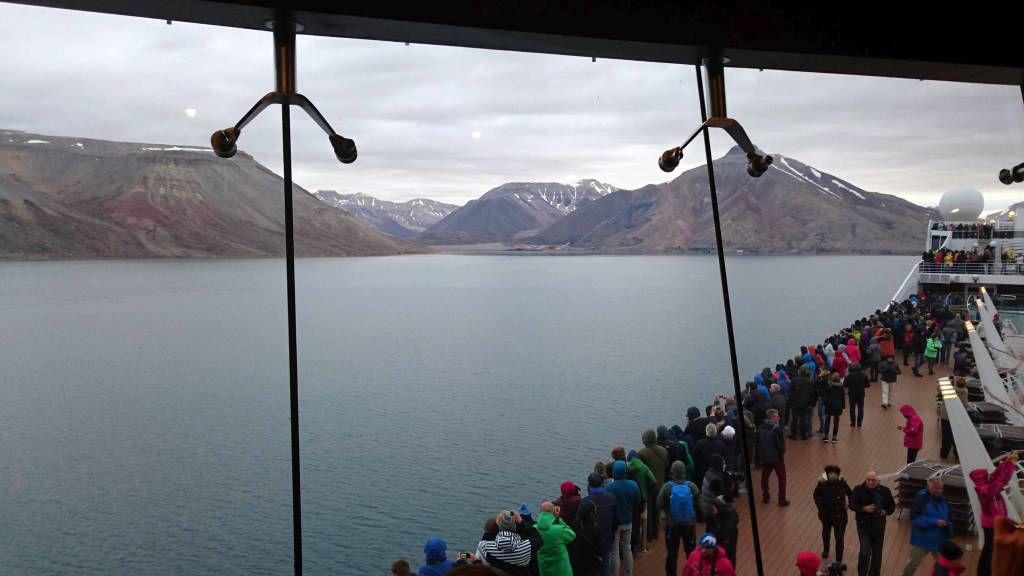 Spitzbergen,Pyramiden, eine russische Enklave