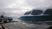 MSC Preziosa, auf See kurz vor Tromsö