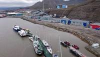 Spitzbergen, Longyearbyen, Hafen