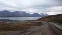 Spitzbergen, Longyearbyen, Landschaft