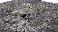Spitzbergen, Longyearbyen, alter Bergwerksschacht