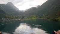 Geiranger, das Fjordende am Ort
