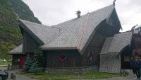 Flåm, Holzhaus