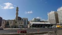 Abu Dhabi, alte Moschee und City Air Terminal