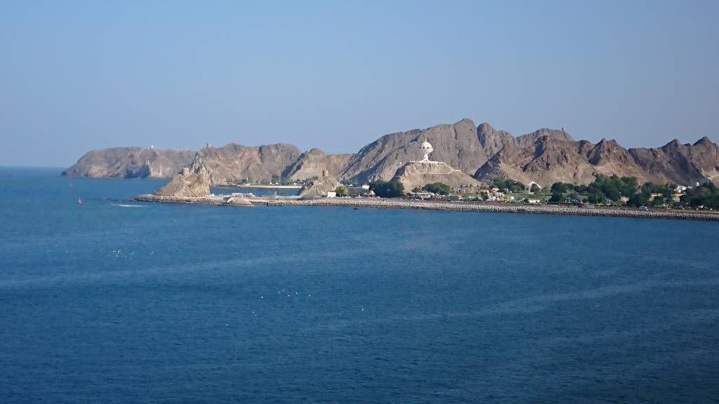 Oman, Blick auf das Festland