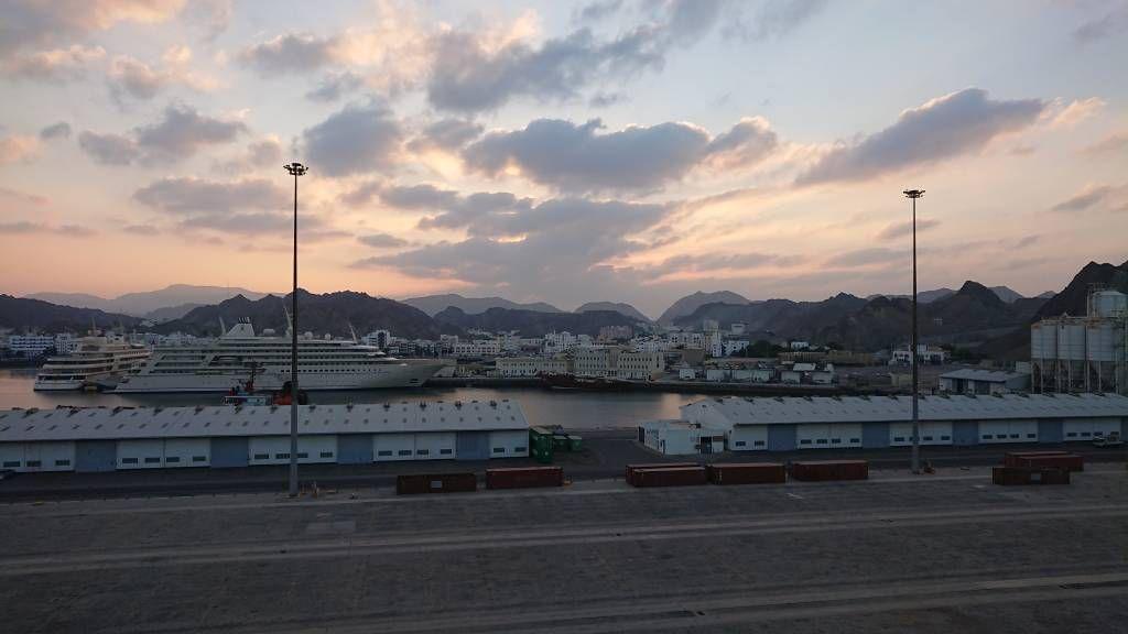 Oman, Hafenausfahrt