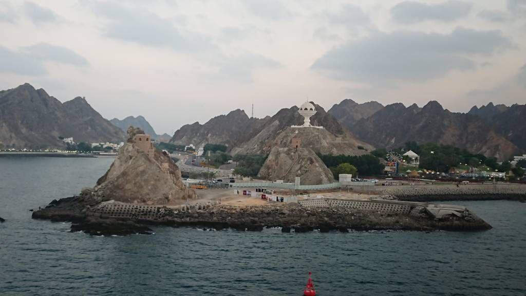 Oman, Muscat, Hafenausfahrt