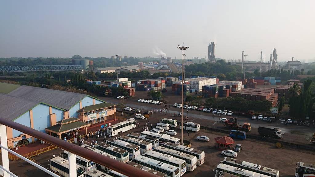 Der Hafen von New Mangalore