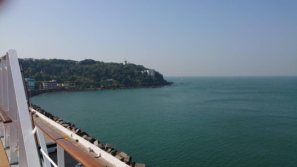 Der Hafen von Goa