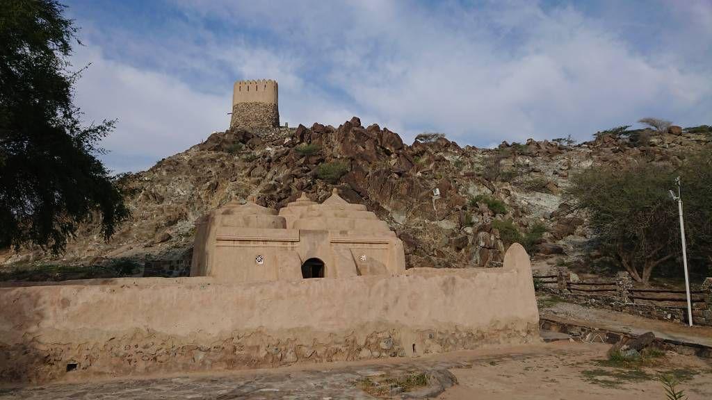 Al Bidiyah Moschee und Fort