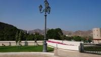 Oman, Al Bustan Palace Hotel, Außenanlage